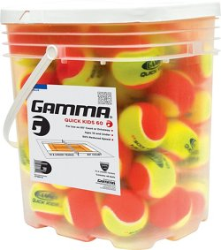 Gamma Quick Kids 60 Tennis Balls 48-Pack