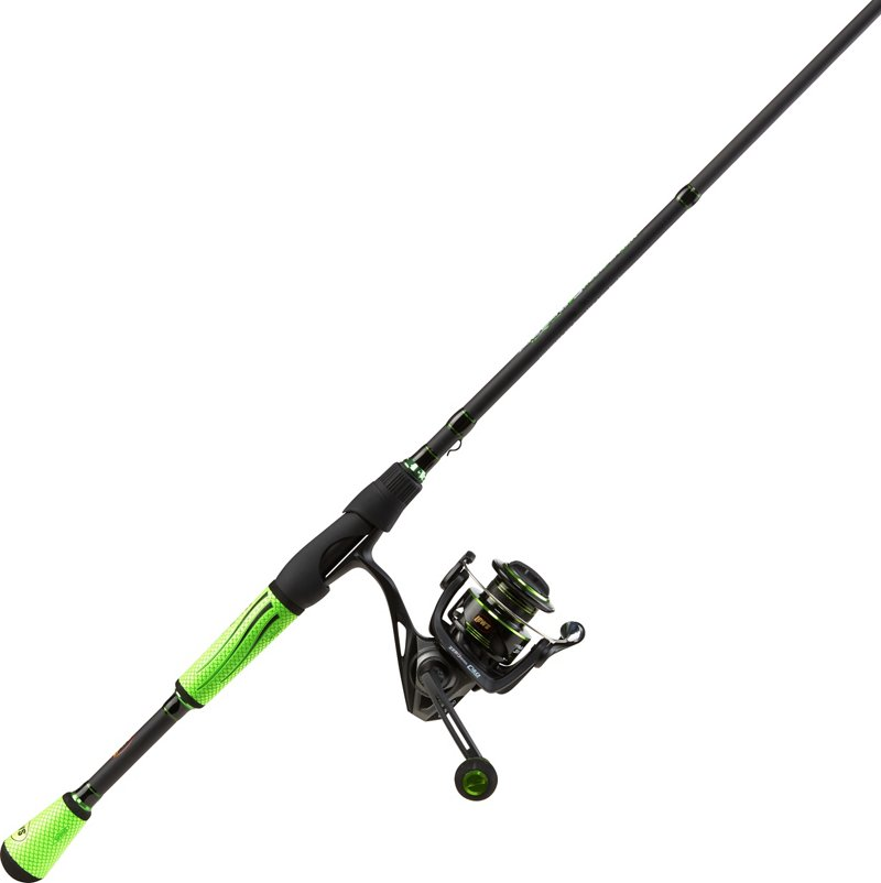 Lew's Mach II Speed Spin 6 ft 9 in M Rod and Reel Combo Black – Fishing Combos, Spinning Combos at Academy Sports