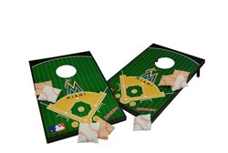 Wild Sports Miami Marlins Tailgate Bean Bag Toss Game