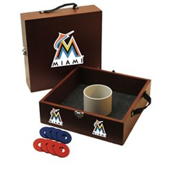 Wild Sports Miami Marlins Washer Toss Game