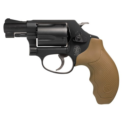 Smith & Wesson 437 .38 Special Revolver with FDE Grips