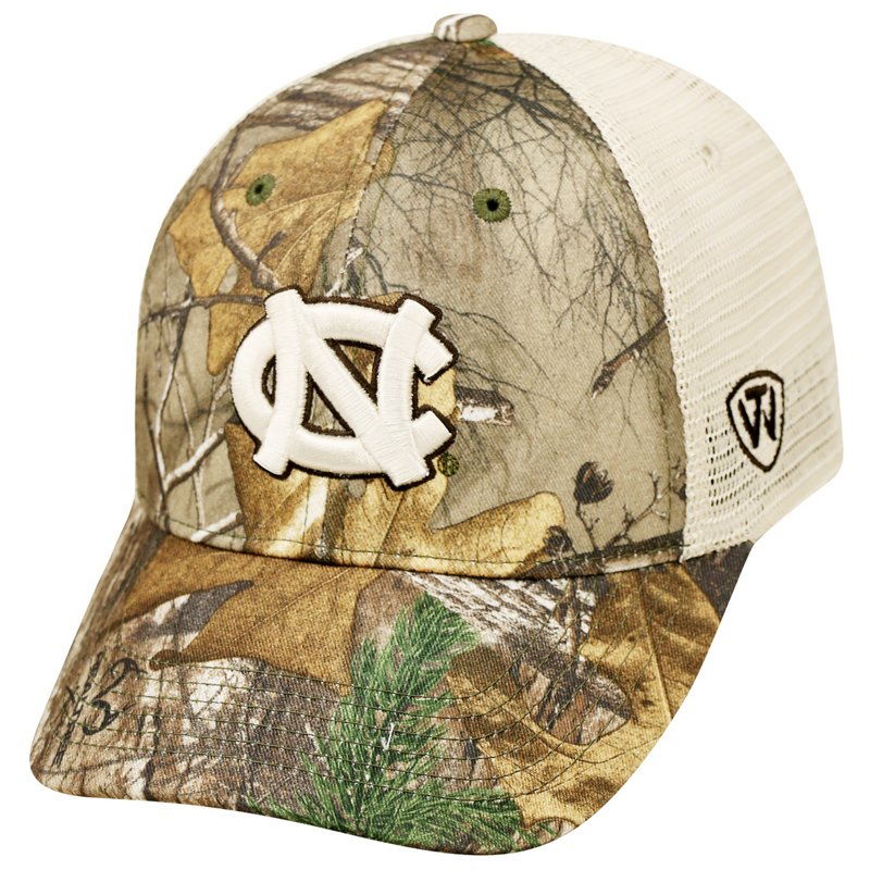 Top of the World Men's University of North Carolina Prey Cap (Dark Green/Light Green, Size One Size) – NCAA Licensed Product, NCAA Men's Caps at Academy Sports