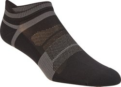 ASICS® Men's Quick Lyte™ Cushioned Single Tab Ankle Socks 3 Pack