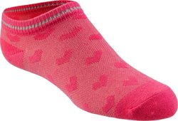 BCG Girls' Pique Knit Low-Cut Socks 6 Pack