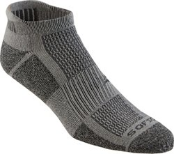 BCG Men's Multisport Cushion Low-Cut Socks 3 Pack