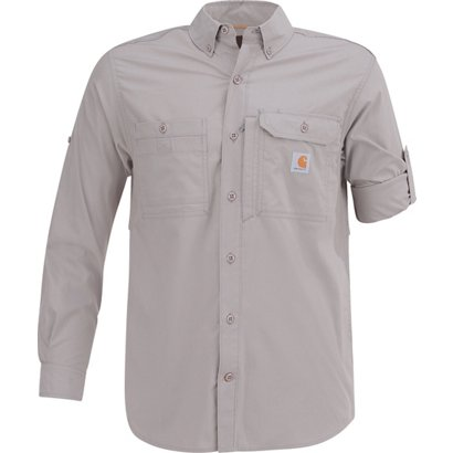 3249507b3d Academy   Carhartt Men s Force Ridgefield Solid Long Sleeve Shirt. Academy.  Hover Click to enlarge