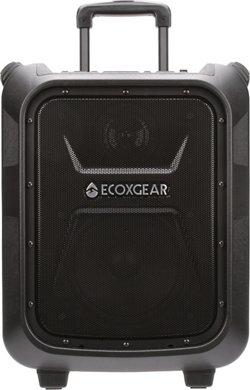 ECOXGEAR EcoBoulder 100 W Portable Waterproof Bluetooth Speaker