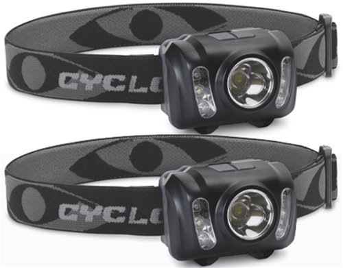 Display product reviews for Cyclops 210-Lumen Headlamps 2-Pack