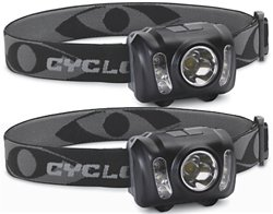 Cyclops 210-Lumen Headlamps 2-Pack