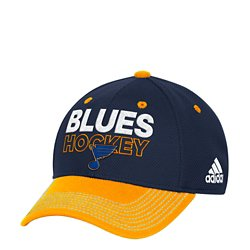 adidas Men's St. Louis Blues Locker Room Structured Flex Fit Cap