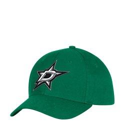 adidas Men's Dallas Stars Logo Structured Adjustable Cap