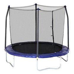 8 ft Round Trampoline with Enclosure