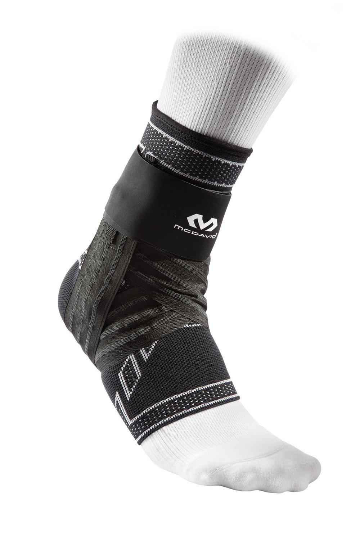 McDavid Elite Engineered Elastic Ankle Brace with Figure-6 Strap and Stays