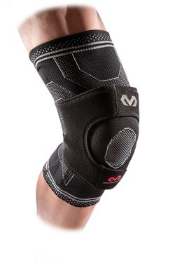 Elite Engineered Elastic Knee Support with Dual Wrap and Stays