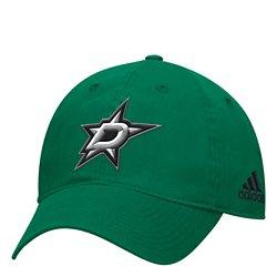 adidas Men's Dallas Stars Primary Logo Adjustable Slouch Cap