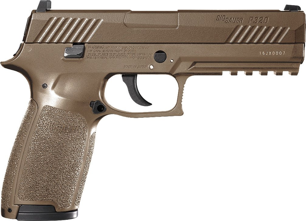 SIG SAUER P320 Advanced Sport Pellet .177 Caliber Air Pistol
