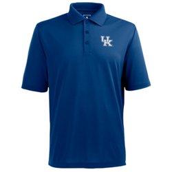 Antigua Men's University of Kentucky Pique Xtra-Lite Polo Shirt