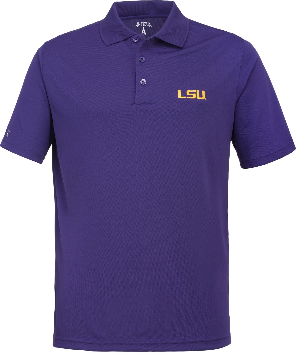 more photos 61b62 5499f Display product reviews for Antigua Men s Louisiana State University  Xtra-Lite Polo Shirt