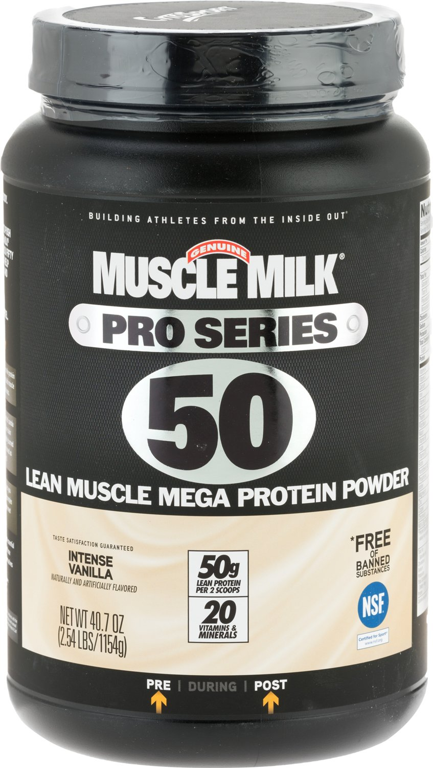Display Product Reviews For Muscle Milk Pro Series 50 Lean Mega Protein Powder 254 Lbs