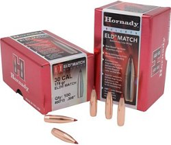 Hornady ELD Match 30 .308 178-Grain Rifle Bullets