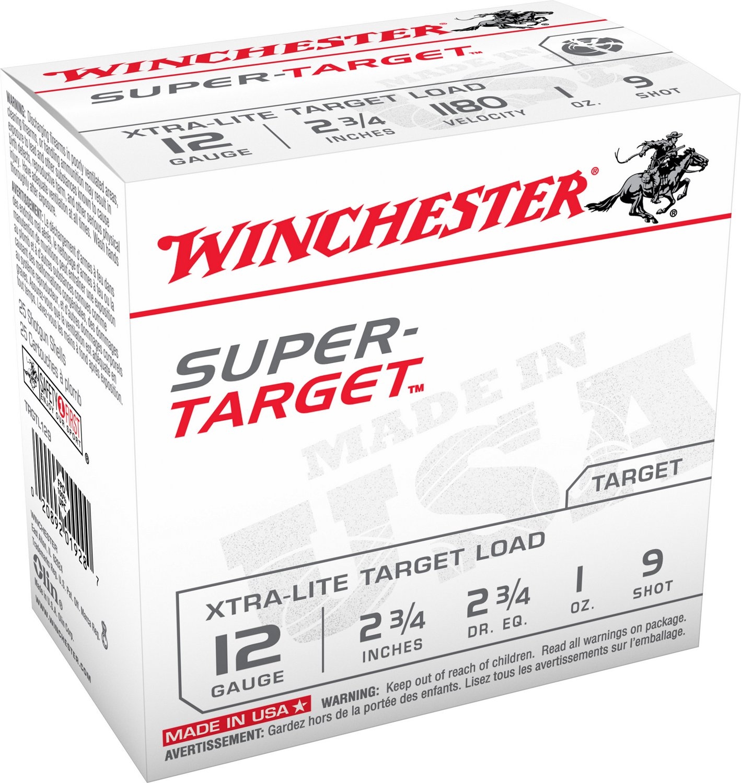 Winchester Super Target 12 Gauge Shotgun Shells
