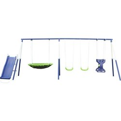 Agame Rosemead 7-Station Swing Set