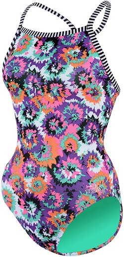 Dolfin Women's Uglies V-2 Back 1-Piece Swimsuit