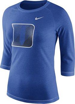 Nike Women's Duke University Champ Drive Raglan T-shirt