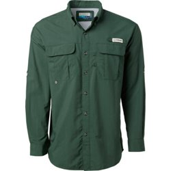 Men's Laguna Madre Solid Long Sleeve Fishing Shirt