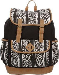 Emma & Chloe Girls' Vinyl-Base Cotton Backpack