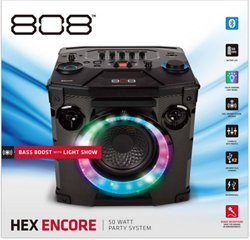 808 Audio Hex Encore Bluetooth Speaker