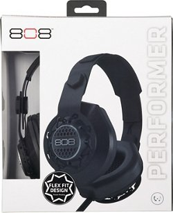 808 Audio Performer Over-the-Ear DJ-Style Headphones