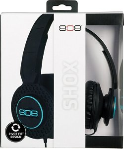 808 Audio SHOX On-Ear Wired Headphones