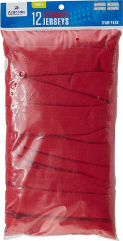Academy Sports + Outdoors Boys' Scrimmage Vests 12-Pack