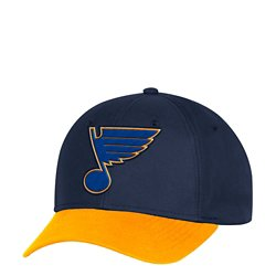 adidas Men's St. Louis Blues Performance Structured Adjustable Cap