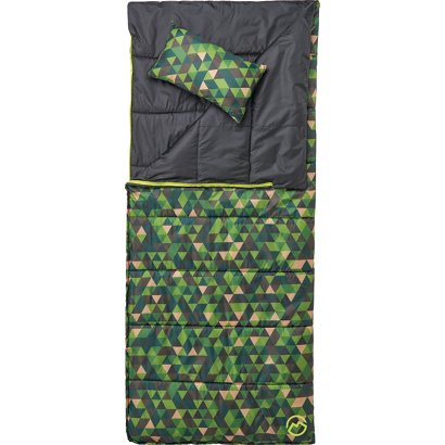 Magellan Outdoors Kids 45 Degree F Reversible Sleeping Bag With Pillow