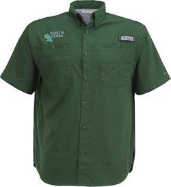 Columbia Sportswear Men's University of North Texas Tamiami™ Short Sleeve Shirt