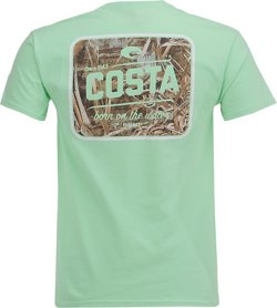 Costa Del Mar Men's Country Camo Short Sleeve T-shirt