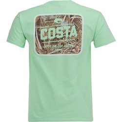 Del Mar Men's Country Camo Short Sleeve T-shirt