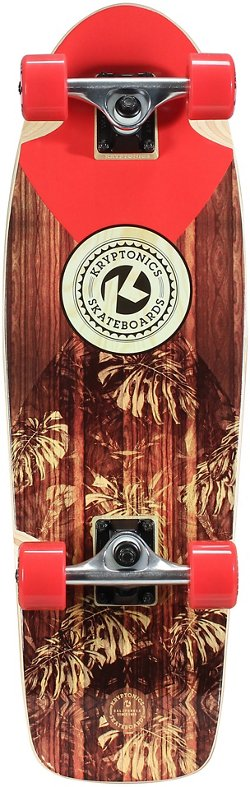 Kryptonics Standard Cruiser Solid 28 in Skateboard
