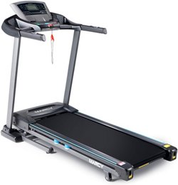 Motorized Treadmill with Auto Incline