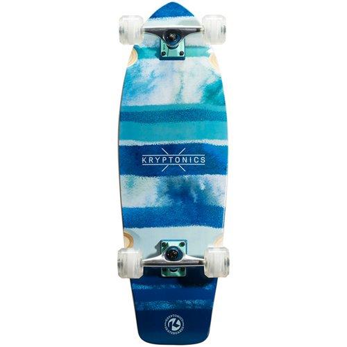 Kryptonics Super Fat Cruiser Blue Fish 30.5 in Skateboard
