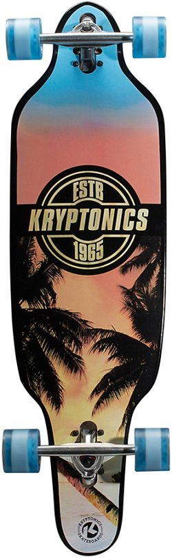 Kryptonics Drop Through Staycation 37 in Longboard