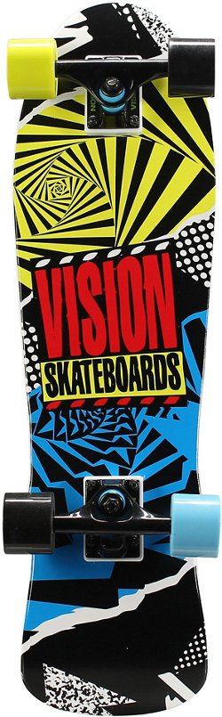 Vision Mini Cruiser Hot Mess 28 in Skateboard
