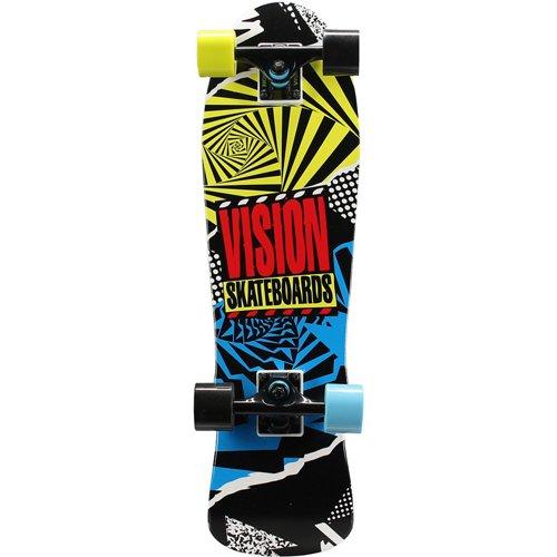 Vision Mini Cruiser Hot Mess 28 in Skateboard