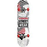 Vision Popsicle Spiral Cube 31 in Skateboard