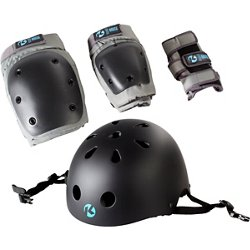 Youth California 4-in-1 Pad Set With Helmet