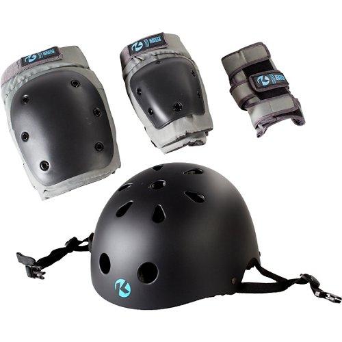 Kryptonics Youth California 4-in-1 Pad Set With Helmet