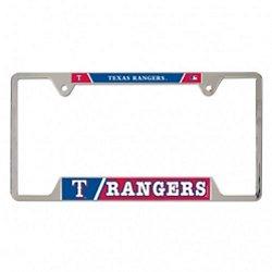 WinCraft Texas Rangers Metal License Plate Frame
