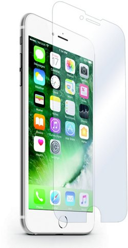 iHome Antiglare iPhone 6/7 Screen Protectors 2-Pack